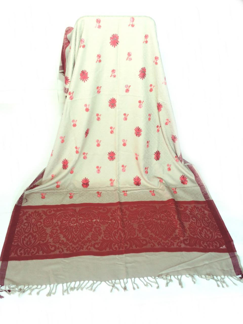 Embroidery Pashmina Shawl